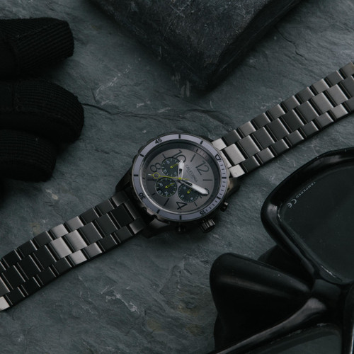 California Watch Co. Mavericks Chrono SS All Gunmetal (MVK-2223-02B)