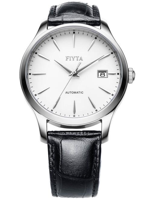 Fiyta Classic Sapphire Automatic Silver White (WGA1010-WWB)