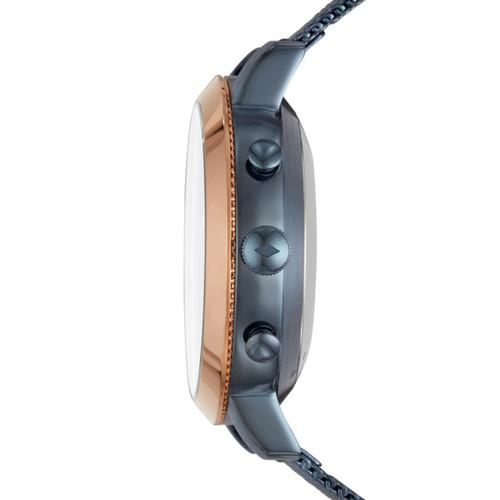 Fossil FTW5031 Hybrid Smartwatch Q Neely Navy Mesh