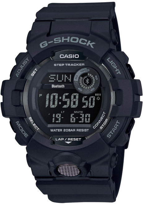 G-Shock GBD800 Bluetooth Activity Tracker Black Grey (GBD800-1B)