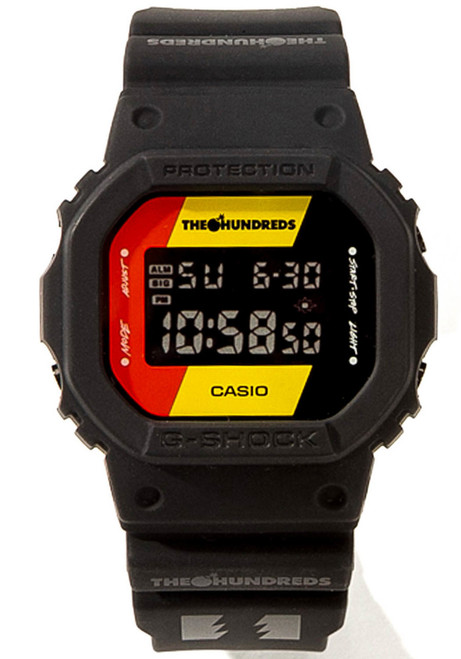 G-Shock DW5600HDR The Hundreds Limited Edition Black (DW5600HDR-1)