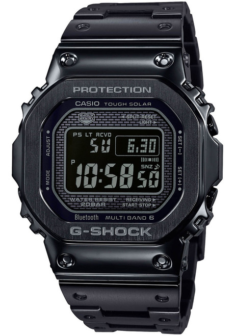 G-Shock GMWB5000 Full Metal All Black (GMWB5000GD-1)