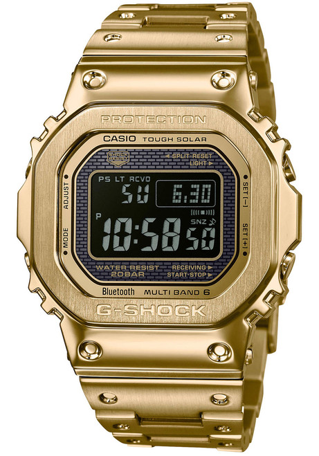 G-Shock GMWB5000 Full Metal Gold Black (GMWB5000GD-9) 194f92e8907a