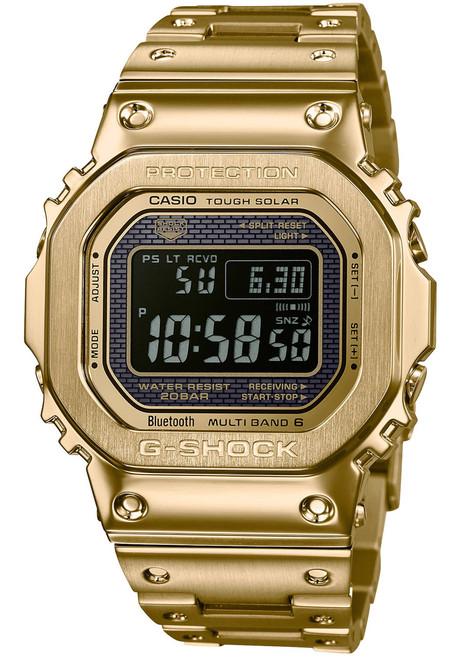 G-Shock GMWB5000 Full Metal Gold Black (GMWB5000GD-9)
