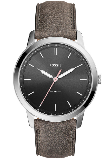 Fossil FS5467 The Minimalist Leather Gray