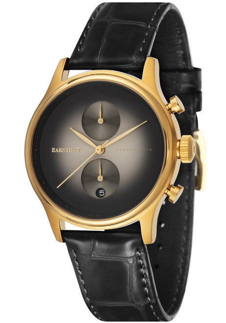 Thomas Earnshaw Bauer Fume Chronograph Black Gold