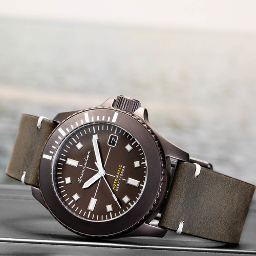 Spinnaker Spence Automatic Brown (SP-5063-02)