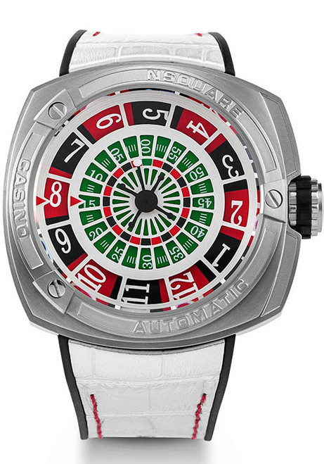 Nsquare Casino Limited Edition Automatic Silver (G0369-N17.7)