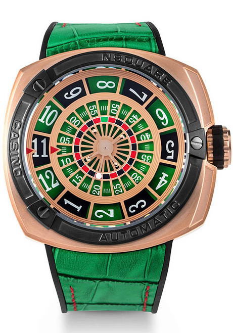 Nsquare Casino Limited Edition Automatic Green (G0369-N17.9)