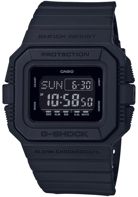 G-Shock Classic DWD5500 All Black Matte (DWD5500BB-1)