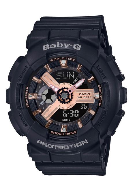 G-Shock Baby-G Rose Gold Black (BA110RG-1A)