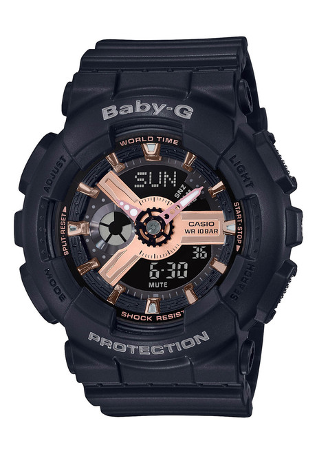 G-Shock Baby-G Rose Gold Black (BA110RG-1A)