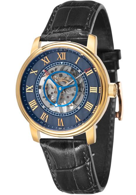 Thomas Earnshaw Westminster Skeleton Hand Wind Gold Black (ES-8096-02)