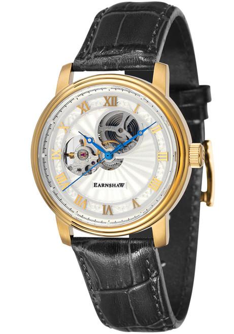 Thomas Earnshaw Westminster Hand Wind Gold Black (ES-8097-02)