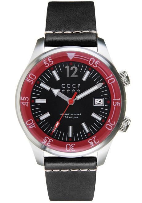 CCCP Black Sea Automatic Silver Black (CP-7043-01)