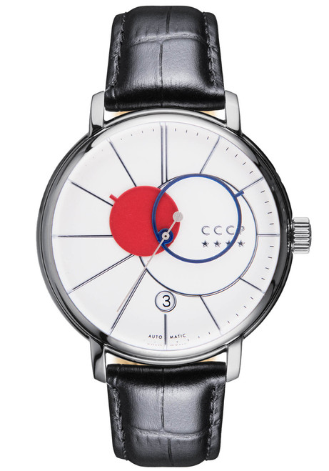 CCCP Friendmann Automatic Silver Black White (CP-7044-03)