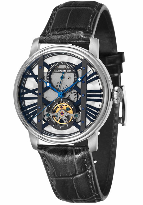 Thomas Earnshaw Westminster Automatic Silver Black