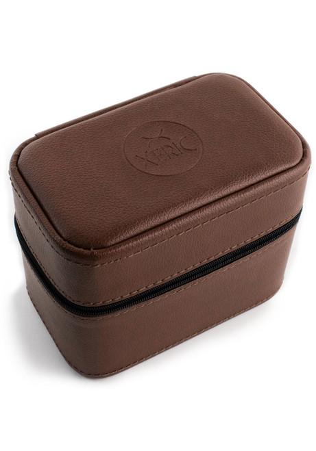 Xeric Two Watch Brown Travel Case (XRC-TRVL-BROWN)