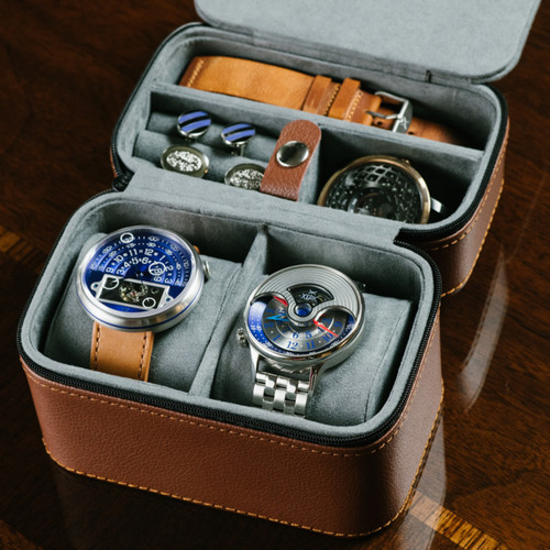 Xeric Two Watch Navy Travel Case (XRC-TRVL-NAVY)