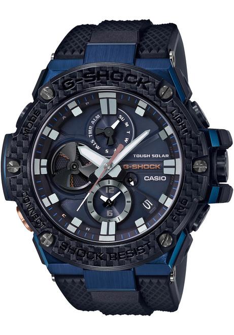 G-Shock G-Steel Carbon Fiber Solar Blue (GSTB100XB-2A)