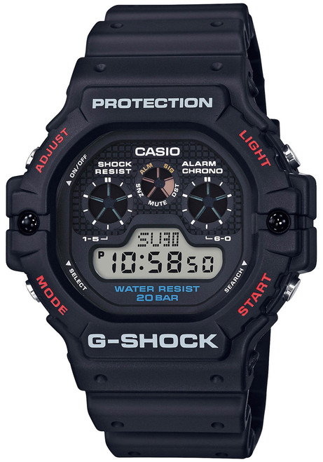 G-Shock DW-5900 Revival Black Red (DW5900-1)