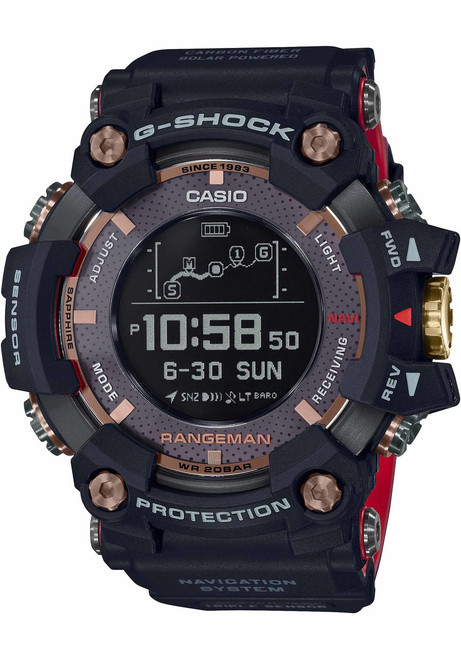 G-Shock GPR-B1000 35th Anniversary Black Red Limited Edition (GPRB1000TF-1)