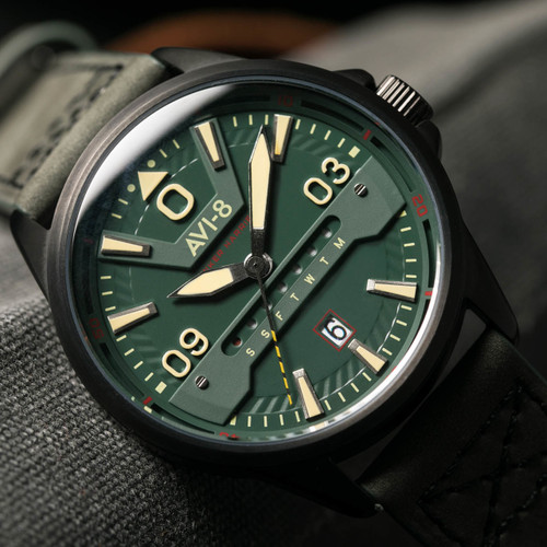 AVI-8 Hawker Harrier II AV-4063-04 Army Green (AV-4063-04)