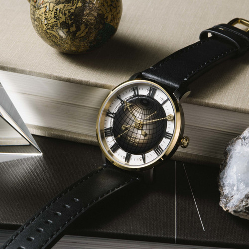 Xeric Atlasphere Automatic Gold Limited Edition (ASA-1510-03L)