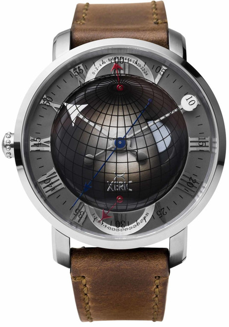 Xeric Atlasphere GMT Gunmetal (ASQ-1112-06L)