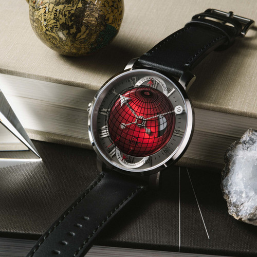 Xeric Atlasphere GMT Red Limited Edition (ASQ-1183-03L)