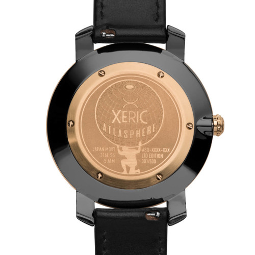 Xeric Atlasphere GMT Rose Gold (ASQ-2422-03L)