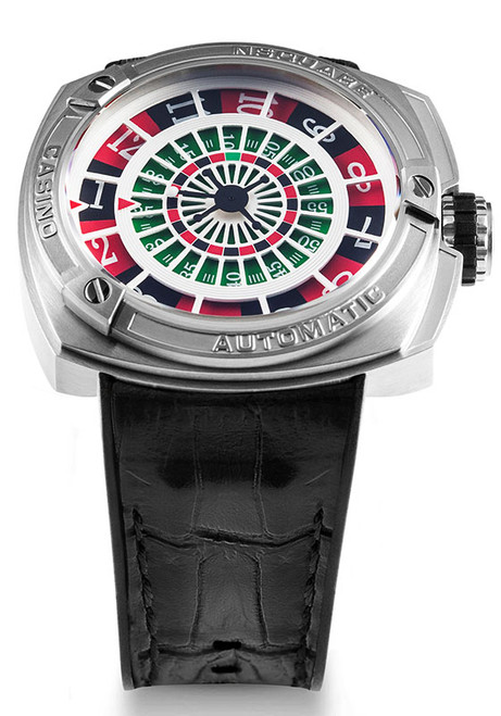 Nsquare Casino Limited Edition Automatic Black (G0369-N17.15) front