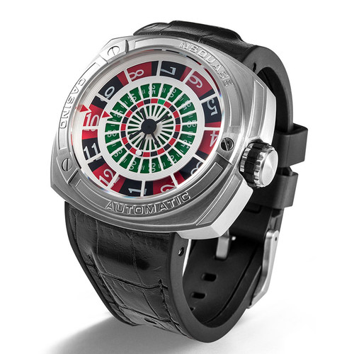 Nsquare Casino Limited Edition Automatic Black (G0369-N17.15) 3/4 view