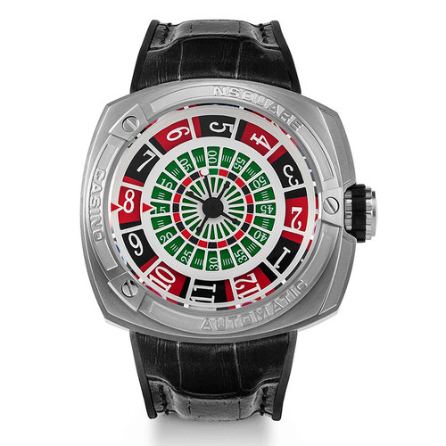 Nsquare Casino Limited Edition Automatic Black (G0369-N17.15) straight-on