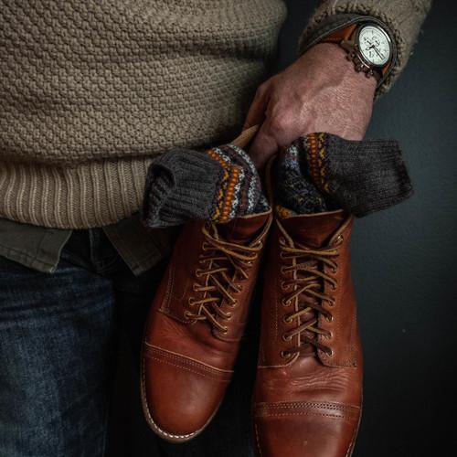 Jack Mason Nautical Chronograph White Tan (JM-N102-018) wrist shoes