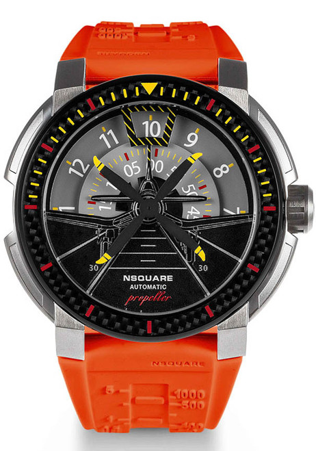 Nsquare Propeller Automatic Orange (G0512-N26.4) front