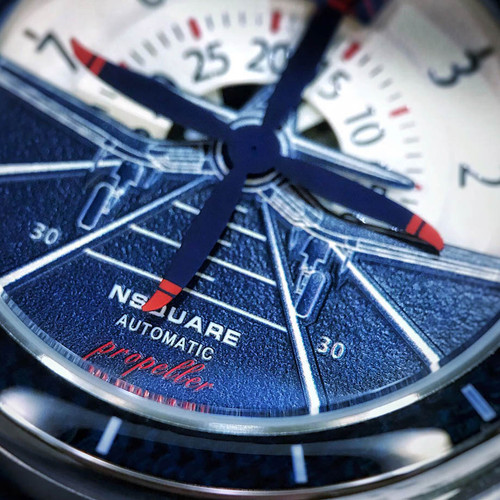 Nsquare Propeller Automatic Blue (G0512-N26.5) full dial