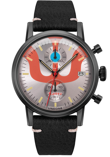 Undone Ultraman Chronograph Limited Edition All Black (UNUCLB) front
