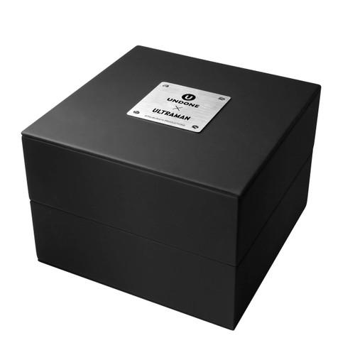 Undone Ultraman Chronograph Limited Edition Silver Black (UNUCLSB) box