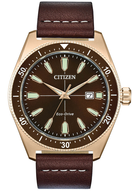 Citizen Eco-Drive Brycen Brown Gold (AW1593-06X)