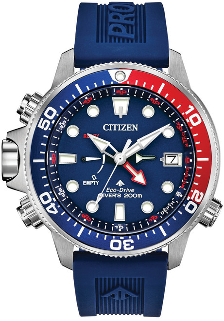 10d80a5d8c3 Citizen Eco-Drive Promaster Aqualand Blue Red (BN2038-01L)