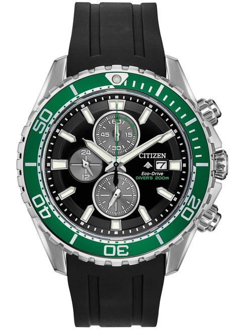 Citizen Eco-Drive Promaster Diver Green Black (CA0715-03E)