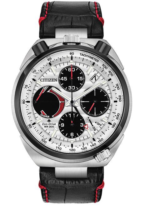 Citizen Eco-Drive Tsuno Chrono Racer Black Red (AV0071-03A)