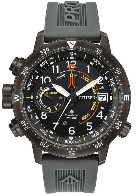 Citizen Eco-Drive Promaster Altichron Black Grey (BN5057-00E)