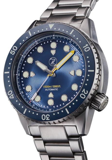 Zelos Great White Swiss Automatic 1000M Steel Cobalt Blue (GW-SS-BL)