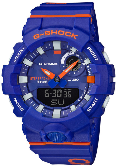 G-Shock GBA800DG Beast It Up! Purple Orange (GBA800DG-2A) front