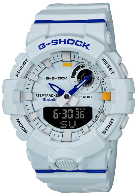G-Shock GBA800DG Beast It Up! White Blue (GBA800DG-7A) front