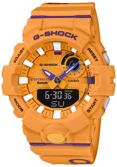 G Shock Gba800dg Beastin It Up Yellow Purple