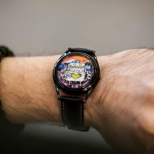 Mr. Jones Robotto Shi Automatic Limited Edition (99-V9)  male wrist