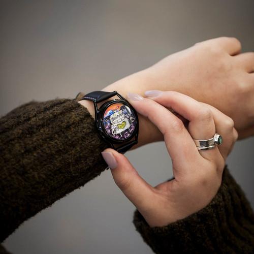 Mr. Jones Robotto Shi Automatic Limited Edition (99-V9)  female wrist